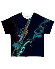 Saxophone Saxophonist Unique Gift All-over T-Shirt front