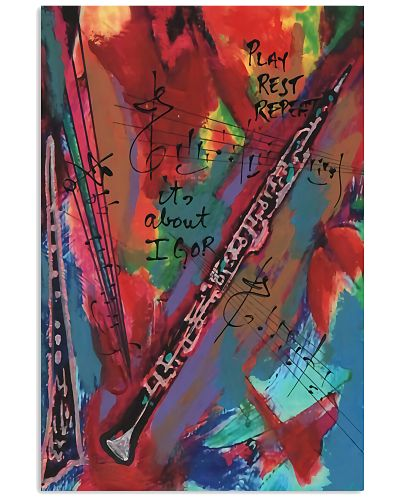 Clarinet Art Color