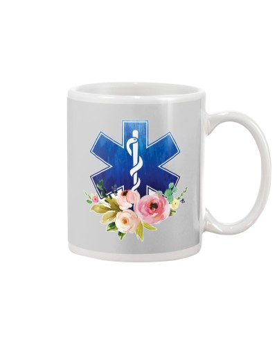 Paramedic Floral Logo