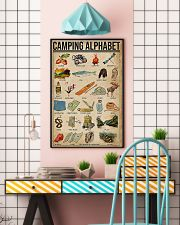 Camping Alphabet  11x17 Poster lifestyle-poster-6
