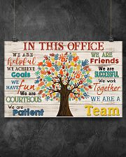 Social Worker We Are A Team 17x11 Poster poster-landscape-17x11-lifestyle-12