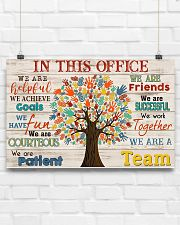 Social Worker We Are A Team 17x11 Poster poster-landscape-17x11-lifestyle-17