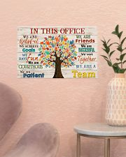 Social Worker We Are A Team 17x11 Poster poster-landscape-17x11-lifestyle-22