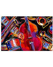 Contrabass and friends 17x11 Poster front