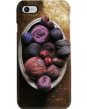 Sewing Vintage Yarn Balls Phone Case i-phone-7-case