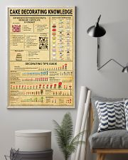 Baker Cake Decorating  Knowledge  11x17 Poster lifestyle-poster-1