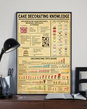 Baker Cake Decorating  Knowledge  11x17 Poster lifestyle-poster-2