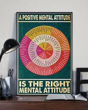 Social Worker A Positive Mental Attitude 11x17 Poster lifestyle-poster-2