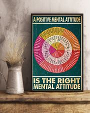Social Worker A Positive Mental Attitude 11x17 Poster lifestyle-poster-3