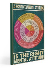 Social Worker A Positive Mental Attitude 20x30 Gallery Wrapped Canvas Prints thumbnail