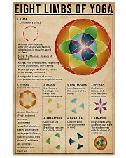 Eight limbs of yoga 11x17 Poster front