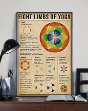 Eight limbs of yoga 11x17 Poster lifestyle-poster-2