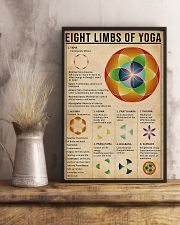 Eight limbs of yoga 11x17 Poster lifestyle-poster-3