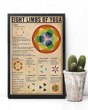 Eight limbs of yoga 11x17 Poster lifestyle-poster-8