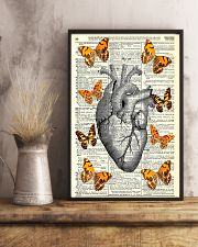 Butterflies Heart Anatomy Cardiologist 11x17 Poster lifestyle-poster-3