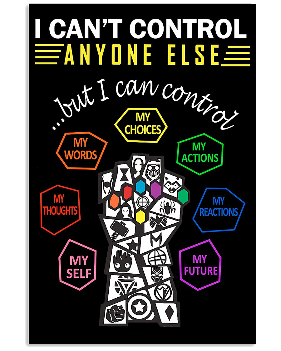 Social Worker I Can Control Myself 11x17 Poster