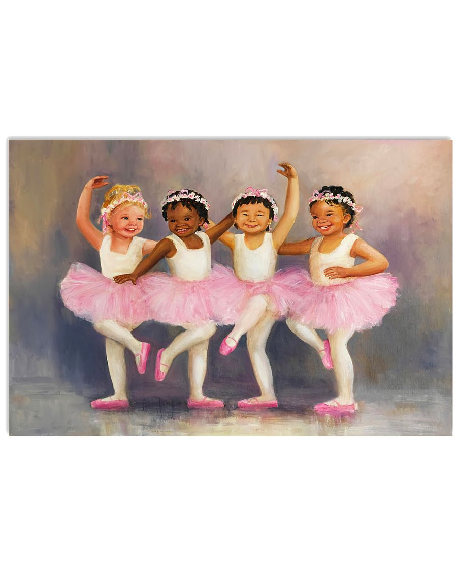 Ballet Painting 17x11 Poster