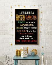 Photographer Take Shot 11x17 Poster lifestyle-holiday-poster-3
