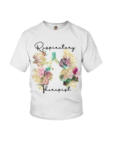 Respiratory Therapist Floral Lungs