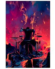 Drummer in fire 11x17 Poster front