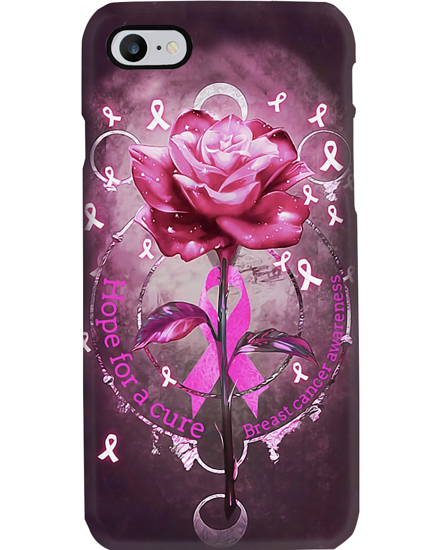 Breast Cancer Hope For A Cure Phone Case