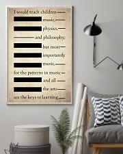 I Would Teach Children Music Physics Philosophy 11x17 Poster lifestyle-poster-1