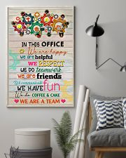 Social Worker In This Office We Are Happy 11x17 Poster lifestyle-poster-1