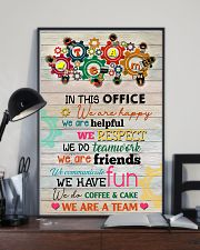 Social Worker In This Office We Are Happy 11x17 Poster lifestyle-poster-2