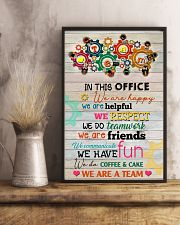 Social Worker In This Office We Are Happy 11x17 Poster lifestyle-poster-3