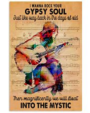 Gypsy Rock Guitar 11x17 Poster front