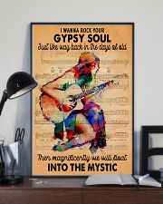 Gypsy Rock Guitar 11x17 Poster lifestyle-poster-2
