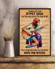 Gypsy Rock Guitar 11x17 Poster lifestyle-poster-3
