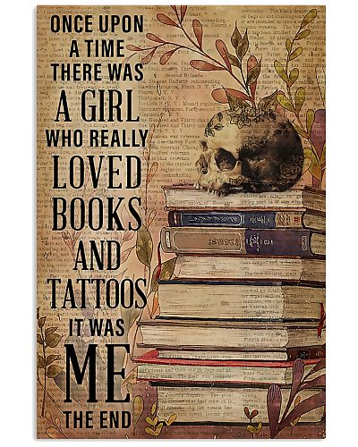 A Girl Who Really Loved Books And Tattoos