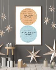 Social Worker Things I Can Control 11x17 Poster lifestyle-holiday-poster-1