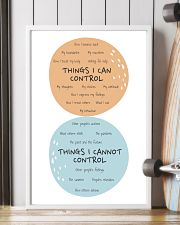 Social Worker Things I Can Control 11x17 Poster lifestyle-poster-4