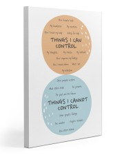 Social Worker Things I Can Control 20x30 Gallery Wrapped Canvas Prints thumbnail