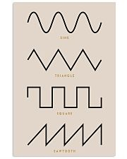 Synthesizer Waveforms  11x17 Poster front