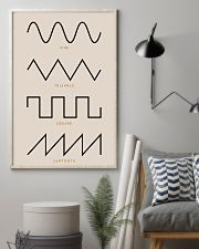 Synthesizer Waveforms  11x17 Poster lifestyle-poster-1
