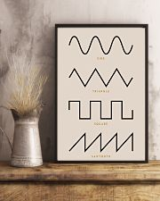 Synthesizer Waveforms  11x17 Poster lifestyle-poster-3