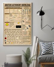 Scientist amateur astronomy knowledge 11x17 Poster lifestyle-poster-1