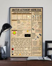 Scientist amateur astronomy knowledge 11x17 Poster lifestyle-poster-2