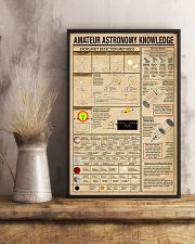 Scientist amateur astronomy knowledge 11x17 Poster lifestyle-poster-3
