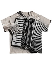 Vintage Accordion  All-over T-Shirt back