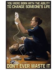 Paramedic Born With Ability To Change Someone'Life 11x17 Poster front
