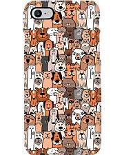 Veterinarian Cute Dogs Family Phone Case i-phone-7-case