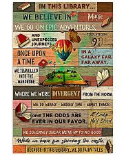 Librarian In This Library We Believe In Magic 24x36 Poster front