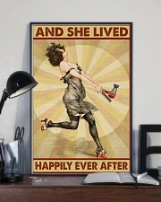 Lived Happily Hairdresser 11x17 Poster lifestyle-poster-2