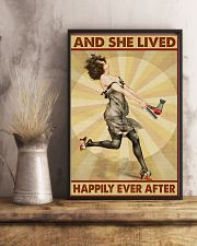 Lived Happily Hairdresser 11x17 Poster lifestyle-poster-3
