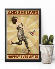 Lived Happily Hairdresser 11x17 Poster lifestyle-poster-8