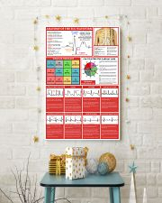 Paramedic Anatomy Of The EGC Waveform 11x17 Poster lifestyle-holiday-poster-3